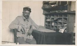 Petite Photo (6 X 10,5 Cm) - Portrait Militaire - Légion - CA Sur Le Col - Casablanca Le 25 Juin 1931 (BP) - Guerra, Militari