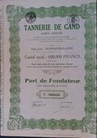 LOT Van 2 Stukken  Gent Leerlooierijen 1929 MARIAKERKE-GAND - Industrial