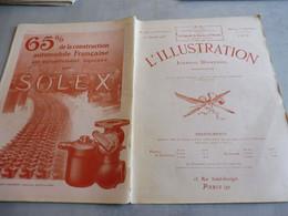 L'ILLUSTRATION 20 JANVIER 1923-ESSEN-OCCUPATION DE LA RUHR- LOUIS LE NAIN-DAMAS HAMA-LOUIS LE NAIN -KU KLUX KLAN USA- - L'Illustration