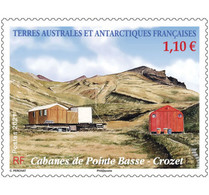 Fsat 2021 Taaf Antarctic Crozet Low Stove Hut House Cabane De Pointe Basse 1v Mnh - Nuevos