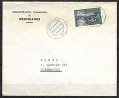 Luxembourg / Luxemburg Lettre Administration Communale De Hesperange 1987 - Briefe U. Dokumente