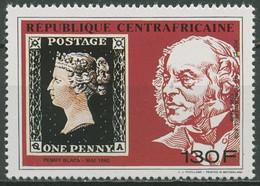 Zentralafrikanische Republik 1990 Penny Black Rowland Hill 1441 A Postfrisch - Zentralafrik. Republik
