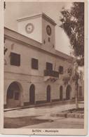 Cartolina Sliten (Libia Tripolitania)  Rara Municipio   Ediz Ali Ben Otman  Tripoli - Libia