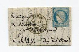 !!! BALLON MONTE LE GENERAL ULRICH POUR ESSAY (ORNE), AVEC TEXTE. MICRO FORMAT - Krieg 1870