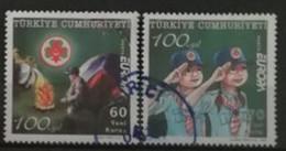 Turquie 2007 / Yvert N°3289-3290 / Used - Gebruikt