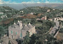 CARTOLINA   ALBEROBELLO, PUGLIA, SELVA DI FASANO, PANORAMA COSTUMI,ANIMATA,  VIAGGIATA 1969 - Bari