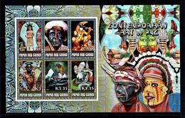 Papua New Guinea 2007 Contemporary Art Minisheet MNH - Papua Nuova Guinea