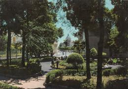 CARTOLINA   ALTAMURA, BARI, PUGLIA, VILLA MERCADANTE,  GIARDINI PUBBLICI, VIAGGIATA 1986 - Bari