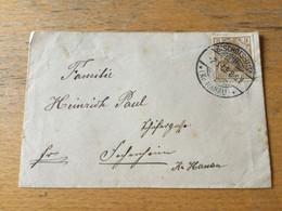 K14 Deutsches Reich 1905 Drucksache Von Bischofsheim Kr. Hanau - Storia Postale