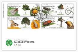 Portugal & FDC Plant Health International Year 2020 (86729) - FDC