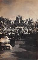 CARTE PHOTO ENGHEIN Les BAINS FETE Du COURONNEMENT De La MUSE (Place ALEXANDRE 1er ??) - Enghien Les Bains