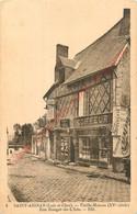 41.  SAINT AIGNAN . Vieille Maison Rue Rouget De L'Isle . - Saint Aignan