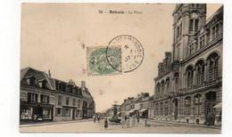 02 - BOHAIN - La Place - Animée - 1907(E163) - Otros Municipios