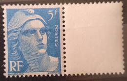 France/French Stamp 1945-47 N°719B Bleu Clair BdF Papier Carton  ** TB - Ungebraucht