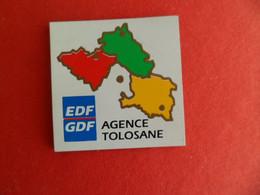 Magnet PUBLICITÉ EDF GDF - Agence Tolosane - - Magnets