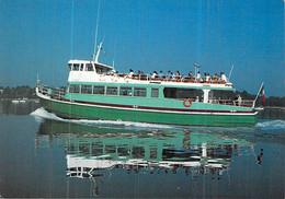 Cpsm Bateau Vedettes Vertes Sur Le Golfe Du Morbihan - Fähren