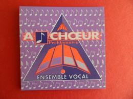 Magnet Publicité A ( Croche ) CHOEUR - Ensemble Vocal à PECHBONNIEU Haute Garonne Musique  Chorale - Magnets