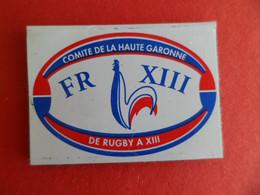 Magnet Publicité Coq Sport FR RUGBY à XIII - Comité De La Haute Garonne - Magnets