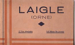 L'AIGLE  DANS L'ORNE  CARNET DE 11  CPA  MANQUE UNE CARTE - L'Aigle