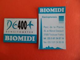 2 Magnet Publicité BIOMIDI DE 400 Densitometer - Electrophoresis à TOULOUSE Haute-Garonne - Magnets