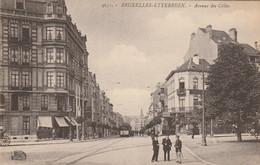 Etterbeek  ,( Bruxelles ), Avenue Des Celtes , Tram Tramway Gendarme Policier ( Edit :Henri Georges ,n° 4651 ) - Etterbeek