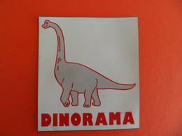Magnet Publicité DINORAMA - Dinosaure - - Magnets