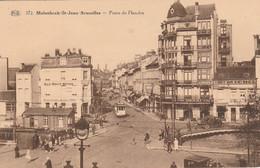 Molenbeek-St-Jean ,( Bruxelles ), Porte De Flandre , Tram Tramway  ( PIB ,n° 372 ) - Molenbeek-St-Jean - St-Jans-Molenbeek