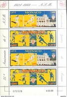 MONACO 1999 - 2 SERIES N° 2196 A 2197 EN FEUILLE - NEUFS** /B10 - Blocks & Kleinbögen