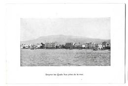 Turquie Turkey - Izmir Smyrne - Les Quais (Vue Prise De La Mer) - Türkei