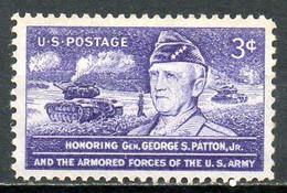 USA. N°577 De 1953. Général Patton. - WW2