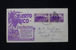 PUERTO RICO  - Enveloppe FDC  Pour L 'Allemagne - L 83931 - Puerto Rico
