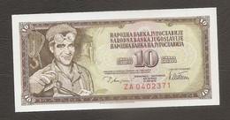 Jugoslavia - Banconota Non Circolata FdS Da 10 Dinari P-87ar - 1978 #19 - Jugoslawien
