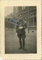 Gendarm - Rijkswacht - Politie    (  Photo   10 X 7  Cm ) - Mestieri