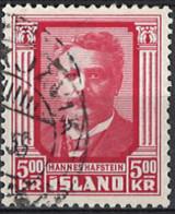 Iceland Island 1954. Mi.Nr. 295, Used O - Usados
