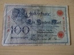Reichsbanknoten 100 Mark Berlin 1898 - 100 Mark