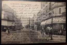 Carte Postale Le Raincy Avenue Thiers (bar Tabacs Pélissier) - Le Raincy