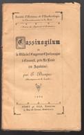 Casseuil Près La Reole (33 Gironde) Cassinogilum, La Villa De Charlemagne  (ed 1929) (PPP26669) - Aquitaine