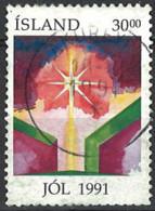Iceland Island 1991. Mi.Nr. 758, Used O - Gebraucht
