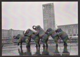 Le Havre - Hotel De Ville - Les éléphants Du Cirque - 1966 - Altri
