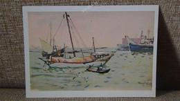 Painting саrtе роstаlе Taran роstcard Djibouti - Djibouti