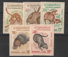 Laos - 1965 - Poste Aérienne PA N°Yv. 47 à 51 - Faune - Neuf Luxe ** / MNH / Postfrisch - Laos