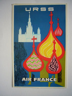 Avion / Airplane / AIR FRANCE / URSS / Airline Issue - 1946-....: Modern Tijdperk