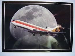 Avion / Airplane / CONTINENTAL / Boeing B727 / Airline Issue / Size :13X18cm - 1946-....: Modern Era