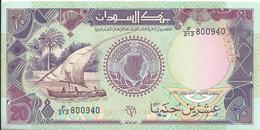 SOUDAN - 20 Pounds 1991 UNC - Soedan