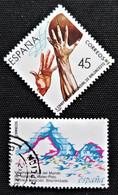 Edifil N° 2851 Et 2852 - 1981-90 Oblitérés