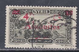 Alaouites  N° 43 O  4 Pi  Sur 01 Pi 25 Vert-noir,  Oblitération Légère Sinon TB - Oblitérés