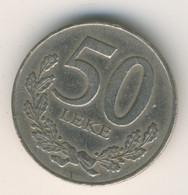 ALBANIA 1996: 50 Leke, KM 79 - Albanien