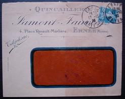 Ernée 1923 (Mayenne) Quincaillerie Tamont Fauveau, Place Renault-Morlière - 1921-1960: Période Moderne