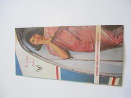 Dépliant Touristique Aéronautique à  3 Volets/En Anglais/INDE/IAC/Indian Airlines Corporation/1967  DT51bis - Dépliants Touristiques
