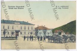 RO 71 - 11340 ORSOVA, Romania, Carriages, Market - Old Postcard - Unused - Roemenië